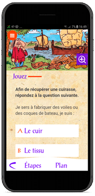 Application Le Village Gaulois - Les quizz