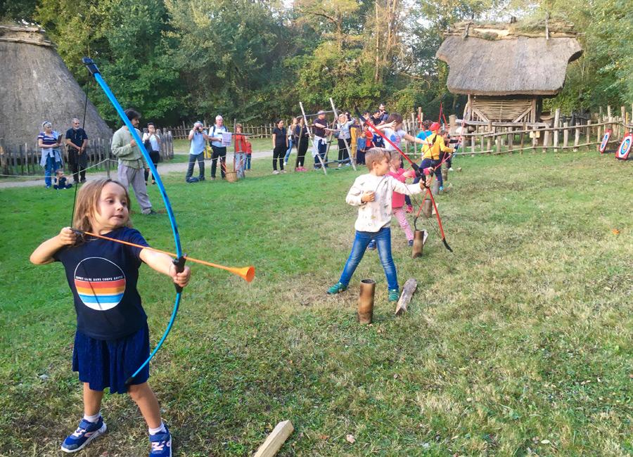 Tir à l'arc pour les enfants