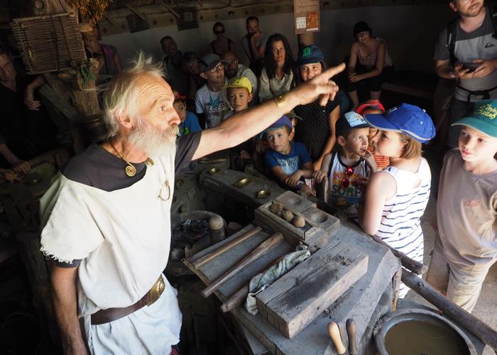 La visite libre du Village Gaulois
