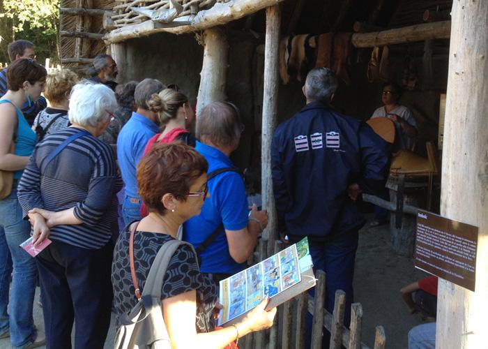 La visite guidée du Village Gaulois