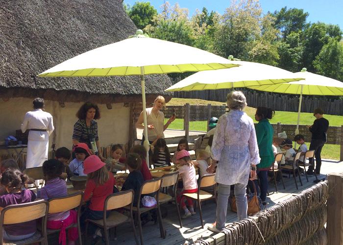 Les ateliers maternelles au Village Gaulois