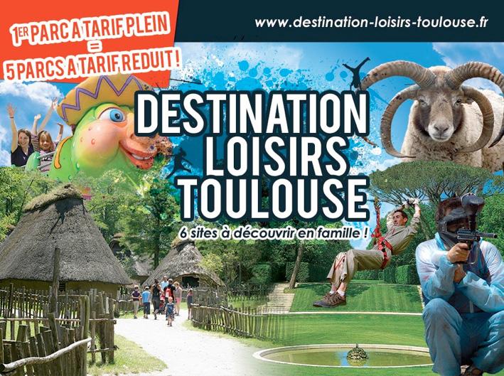Visuel Destination Loisirs Toulouse 2013