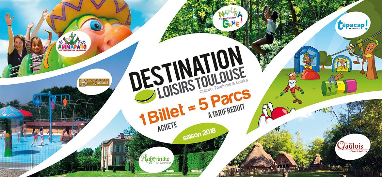 Destination Loisirs Toulouse 2018