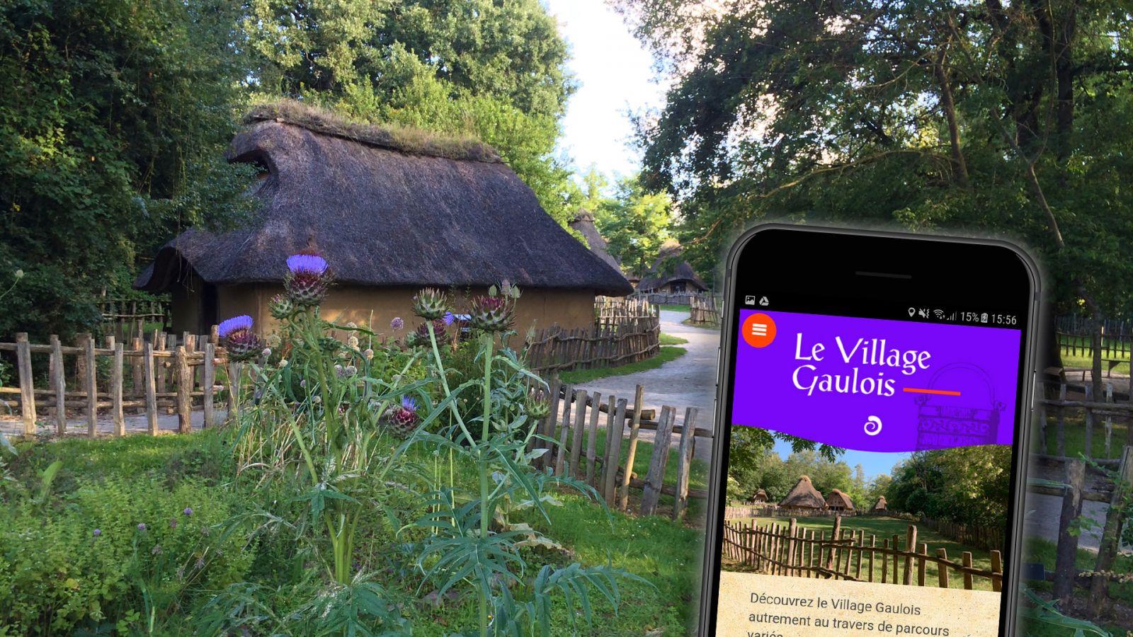 L'application mobile Le Village Gaulois