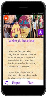 Application Village Gaulois - Le boisillage