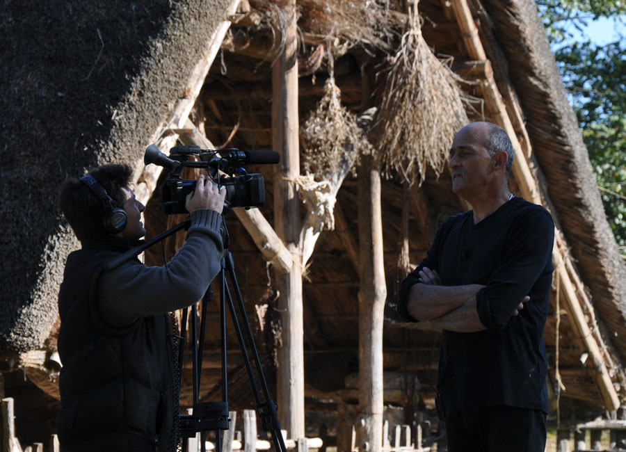 Jean-Luc Blanchard, directeur du Village Gaulois