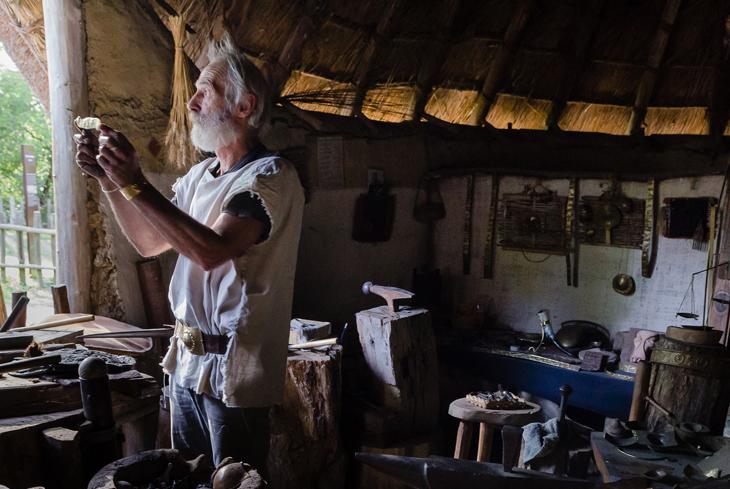 Les artisans du Village Gaulois