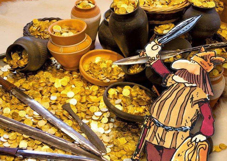 Le trésor des guerriers gaulois
